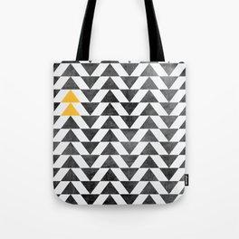 Triangle - Yellow II Tote Bag