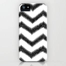 Ikat Chevron iPhone Case