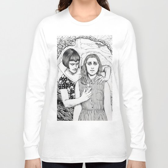 The Girl Who Had No Voice Long Sleeve T-shirt