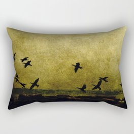 africa is a feeling - on the wing Rectangular Pillow