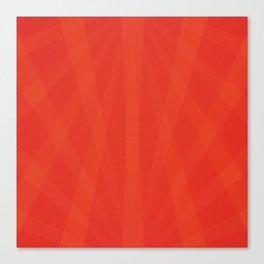 Sunset Orange Cinnabar Canvas Print