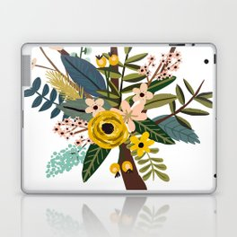 Bold Wildflower Bouquet Laptop & iPad Skin