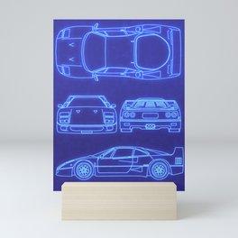 F40 Mini Art Print