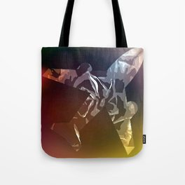 Jet Fighter at dusk Tote Bag