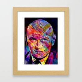 Yul Framed Art Print