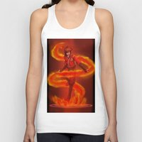 vocaloid Tank Tops featuring VOCALOID Kai by Witchy