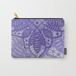 big blue lace star Carry-All Pouch