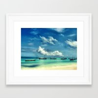 hakuna Framed Art Prints featuring Hakuna Matata by Anna Andretta