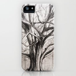Tree in the Park iPhone Case