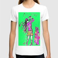 girl power T-shirts featuring Girl Power by sladja