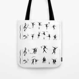 Symphony of Movements Tote Bag
