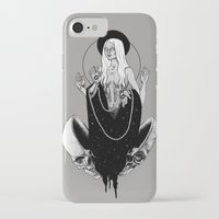 goddess iPhone & iPod Cases featuring Goddess by alesaenzart