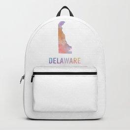 Watercolor State - DE Backpack