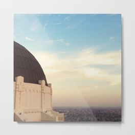 Griffith Observatory - Los Angeles Metal Print