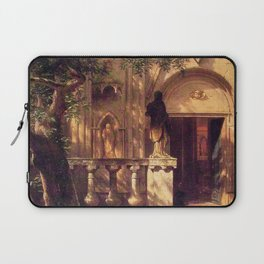 Sunlight And Shadow 1862 By Albert Bierstadt | Reproduction Painting Laptop Sleeve