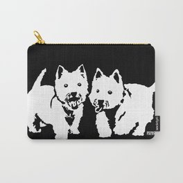 "West Highland Terrier ""The Westie"" Man's Best Friend Carry-All Pouch"