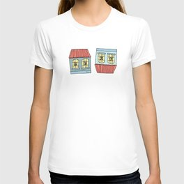 Venezuelan colonial houses T-shirt