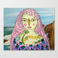 Love Deep Like The Sea Canvas Print