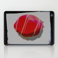 donut iPad Cases featuring donut by gasponce