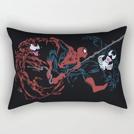 Spider-man - Carnage VS Spidey VS Venom Rectangular Pillow