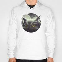 mad Hoodies featuring Owl & The Moon by Dr. Lukas Brezak