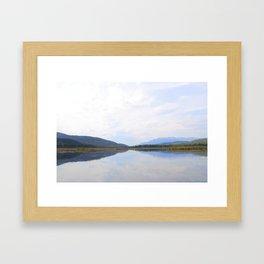 Grande Cache 2 Framed Art Print