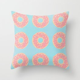 Donuts 2 Throw Pillow