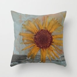 Calendula Deco Throw Pillow