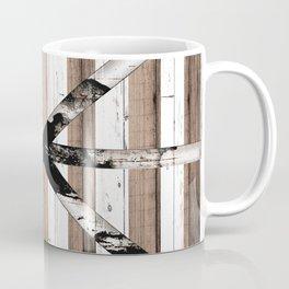 Rustic Multi Wood Barn Door Coffee Mug