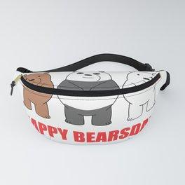 Happy Bears Day Fanny Pack