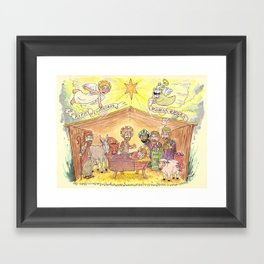 Merry Christmas from EEGRA Framed Art Print