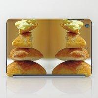 bread iPad Cases featuring Zen Bread by Joe Pansa