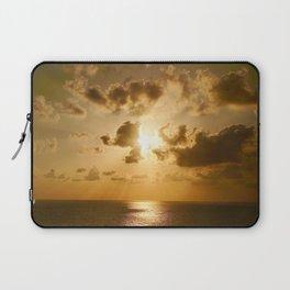 Sunset in Tel Aviv Laptop Sleeve