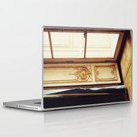 doors Laptop & iPad Skins featuring French Doors by happeemonkee