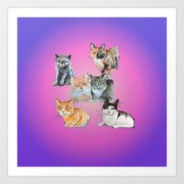 Rasmuss and friends Art Print