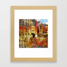 Amsterdam Morning Framed Art Print