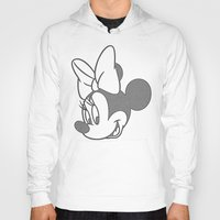 minnie Hoodies featuring Minnie Mouse by tshirtsz