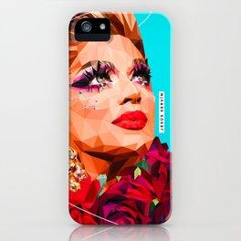 Latin drag iPhone Case