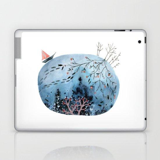BRIDGES AND BALLOONS Laptop & iPad Skin