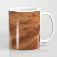 mars Mugs featuring Mars by Lyle Hatch