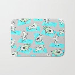 Aqua Yoga Pigs - Downward Facing Hog Bath Mat