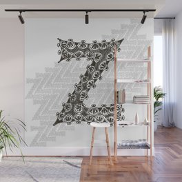 Color Me Z Wall Mural
