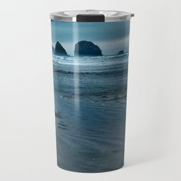 Seascape in Blue Travel Mug