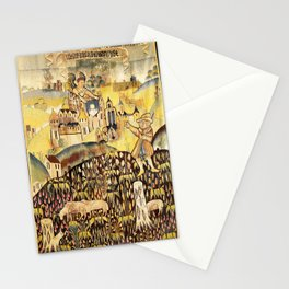 Limousin 16th Century French Tapestry Print Stationery Cards