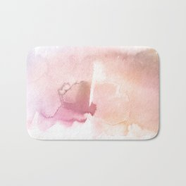 Color me Pink Water Color Bath Mat