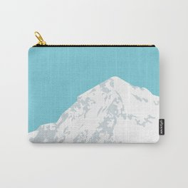 Snow Capped Mountain Carry-All Pouch