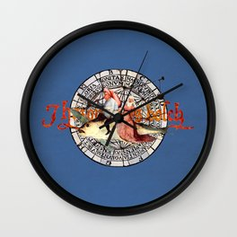 Bosch Flying Fish Couple Wall Clock