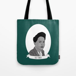 Ella Baker Illustrated Portrait Tote Bag