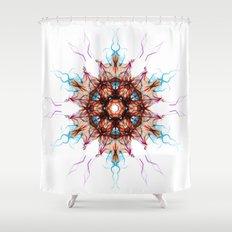 Snowcrystal 1 Shower Curtain