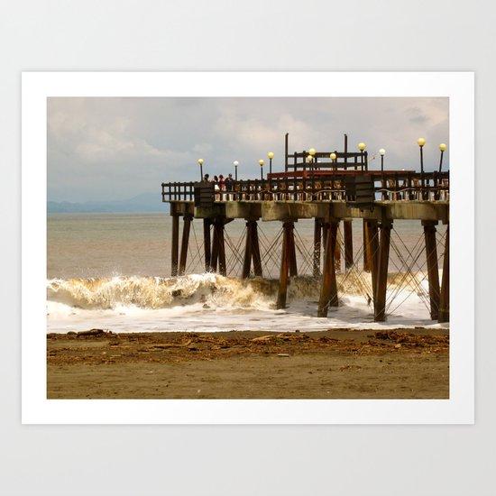 Sea Side II Art Print